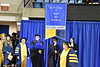 The Eberly College of Arts and Sciences and the College of Business and Economics holds their December Commencement in the Coliseum December 15th, 2017.  Photo Brian Persinger