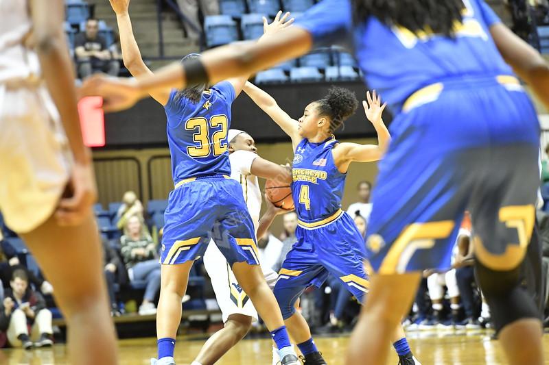 WVU women's basketball action vs Morehead December21, 2017. Photo Greg Ellis