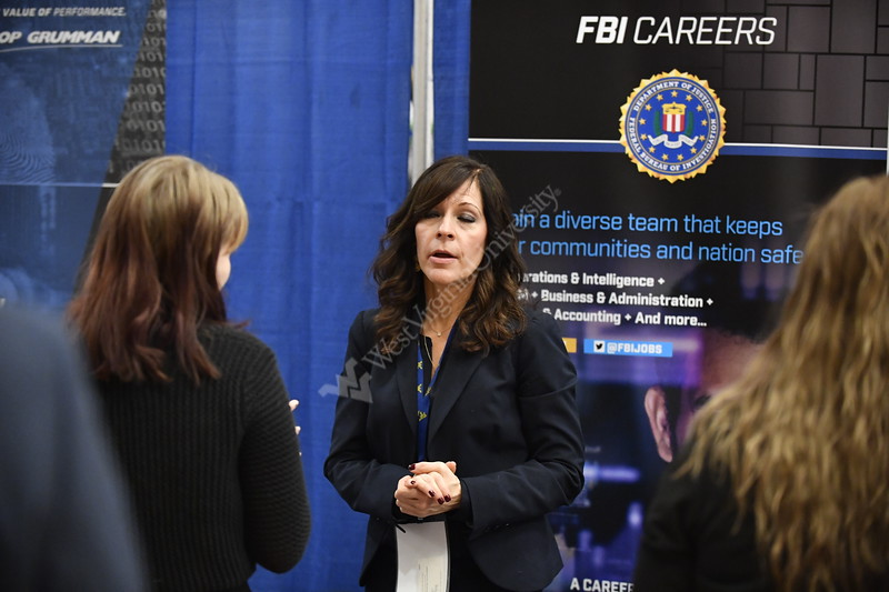 Career Services hosts its Career and Intership Fair February 2nd, 2017 in the Mountainlair on the Evansdale Campus.  Students were invited to speak wtih recruiters from local and national companies regarding jobs and internships upon graduation.