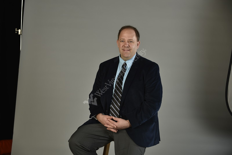 WVU Faculty Dr. Bryan McCannon, Economics, College of Business and Economics Photo Brian Persinger