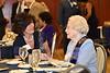 WVU President E Gordon Gee poses with members of the WVU Order of the Vandalia,at the Erickson Alumni Center June 3, 2017. Photo Greg Ellis