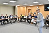 Members of the WVU BOG participate in a learning sessions at the WVU Health Science Center and  the J.W. Ruby Memorial Hospital , June 15,  2017. Photo Greg Ellis