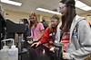 High School female students participate in the Statler College, Growing Roots in STEM summer camp at the Mineral Resource Building June 28th, 2017. Photo Brian Persinger