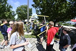 High School students participate in the Statler College, Middle School Engineering Challenge Camp at the Mineral Resource Building June 28th, 2017. Photo Brian Persinger