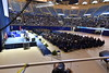 The Davis College of Agriculture, Natural Resources and Design holds Commencement in the Coliseum on May 12, 2017. Photo Brian Persinger
