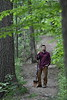 Clinical Assistant Professor Zach Fowler poses for photographs in the Core Arboretum May 23rd, 2017.  Photo Brian Persinger