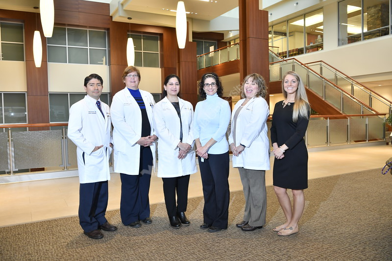 Group and individual portraits of the WV School of Medicine and WV Medicine doctors and staff Neurosurgery Peds  section November 7, 2017. Photo Greg Ellis