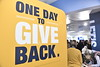 "WVU holds its, ""Day of Giving"" campaign in the Mountainlair November 8th, 2017.  Photo Brian Persinger"