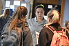 University Apartments holds their housing fair of the Vandalia Lounge of the Mountainlair November 8th, 2017.  Photo Brian Persinger
