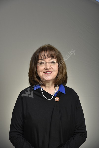 Louise Veselicky; VP of Academic Affairs HSC poses for a Portrait in the HSC studio November 9, 2017. Photo Greg Ellis