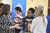 The School of Public Health holds their 150th Celebration with ice cream in the Pylons area of the Health Sciences Center November 10th, 2017. Photo Brian Persinger