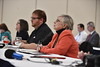 Members of the Health Sciences Community present topics regarding opioids and addiction during University Relations' Academic Media Day at the Erickson Alumni Center November 11th, 2017.  Photo Brian Persinger