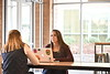 Undergraduate students in the School of Public health pose for marketing photos in the Market area of the Health Sciences Center November 29th, 2017.  Photo Brian Persinger