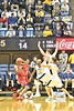 WVU Men's Basketball action WVU coliseum  vs NJIT November 30, 2017. Photo Greg Ellis