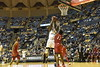 WVU Men's Basketball action WVU coliseum  vs NJIT November 30, 2017. Photo Greg Ellis