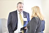 WVU School of Medicine student scholarship recipients interact with their donors at the Medicine Scholarship Luncheon, October 13, 2017. Photo Greg Ellis