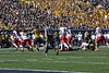 The Mountaineers face off against the Texas Tech Red Raiders for the Homecoming 2017 football game Oct. 14, 2017. The Mountaineers came from behind in the second half to win in the second biggest comeback in WVU football history.