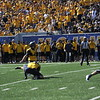WVU rallies to beat Texas Tech 46-35 in the 2017 Homecoming Game at Milan Puskar Stadium.