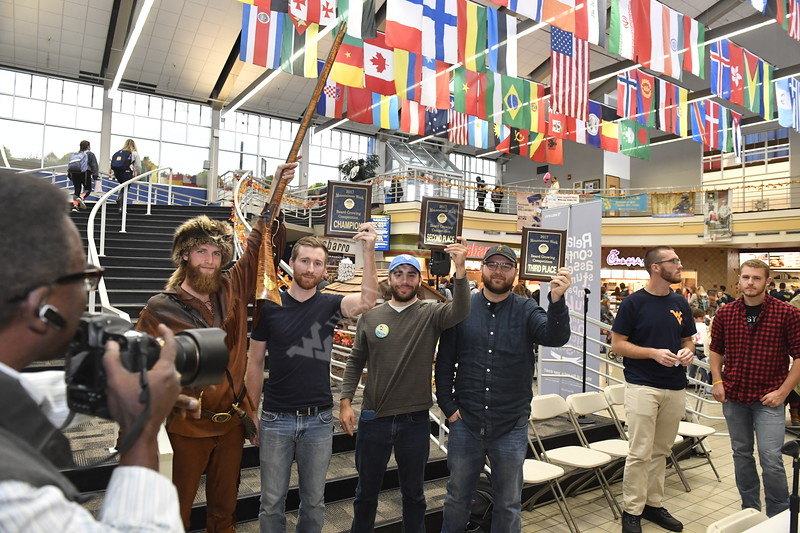 The finals of the Beard Growing Competition are held in the Mountainlair  October 25th, 2017.  Photo Brian Persinger