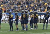 WVU faced Oklahoma State University on October 28, 2017 in Morgantown, WV. The Mountaineers fell to the Cowboys 50-39 in an intense offensive game.