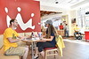 Marketing images of WVU housing retail space, September, 2017 Photo Greg Ellis