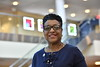 Linda Alexander Associate Dean for Academic Affairs WVU School of Public Health poses for a portrait at the WVU School of Medicine Health Science Center September 8, 2017. Photo Greg Ellis