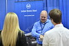 WVU Statler College of Engineering students interact with perspective employers at the WVU Career Fair September 2017. Photo Greg Ellis
