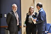 Deborah Schrag, MD, MPH Chief, Division of Population Sciences, Department of Medical Oncology Senior Physician at the DANA-Farber Cancer Institute lectures and interacts with members of the WVU medical community September, 21 2017 on the HSC campus. Photo Greg Ellis