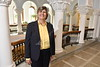 CIO Associate Provost, Barb Dawson poses for photographs in Stewart Hall September 22nd, 2017.  Photo Brian Persinger