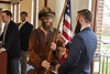 The Passing of the Rifle event is held at the Erickson Alumni Center April 6th, 2018.  Photo Brian Persinger