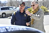 Todd And Michelle Brown owner of  Rooster Racing visit the WVU Statler College Campus April10, 2018. Photo Greg Ellis