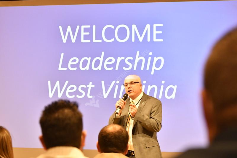 Members of Leadership WV visit the WVU school of medicine April 13, 2018. Photo Greg Ellis