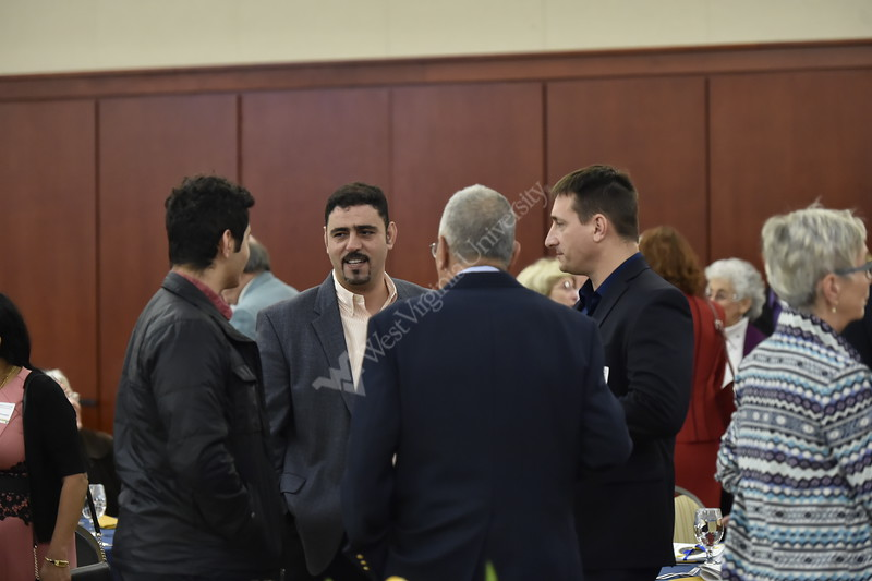 Distinguished Alumni, Faculty, and students gathered on April 21, 2018 at the Erickson Alumni Center to celebrate scholarships and four distinguished alumni who were inducted into the Academy of Mechanical and Aerospace Engineers.