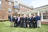 Members of the WVU Chemical Engineering Academy pose for a photo at the Erickson Alumni Center April 27, 2018. Photo Greg Ellis