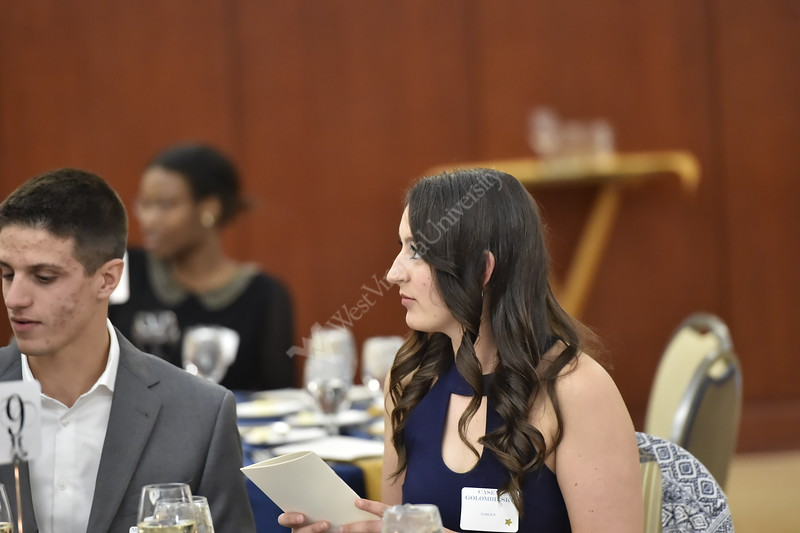Students, Faculty, and Distinguished Alumni gathered at the Erickson Alumni Center on April 27, 2018 to honor a year of accomplishments.