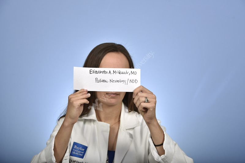 Dr. Elizabeth McQuade of Pediatric Neurology poses for a portrait at the HSC Studio on August 7, 2018.