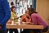 Attendees in the WVU ADVANCE Dialogues Conference participate in day two of exercises at the Reed College Media Center at Evansdale Crossing August 6th, 2018.  Photo Brian Persinger