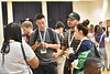 WVU's new International Students meet for the frist time at the Mountain Lair International Student Orientation August 9, 2018. Photo Greg Ellis