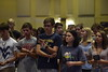 Incoming Honors Freshman Students attend the Honors Induction Ceremony on August 10, 2018 at the Waterfront in Morgantown.