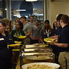Incoming Freshmen participate in a Welcome Week Picnic at the Mountainlair on August 11, 2018.