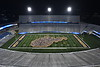 The incoming Freshmen class of 2022 pose for the annual class photo with the help of the WVU Pride forming the shape of the state during Monday Night Lights on Mountaineer Field August 14th, 2018.  Photo Brian Persinger