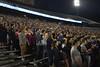New Students participate in Monday Night Lights at Milan Puskar Stadium on August 13, 2018.