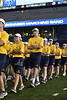 New Students participate in Monday Night Lights at Milan Puskar Stadium on August 13, 2018.