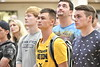 WVU Freshmen students attend the Eblery Academic Session in the Mountain Lair  Blue and Gold Ballroom August 13, 2018. Photo Greg Ellis