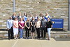 Staff and Faculty with CPASS pose for group photos outside the CPASS Building August 14th, 2018.  Photo Brian Persinger