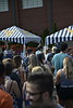 Students and faculty enjoy good food and relaxation at Foodfest before heading to Fallfest on August 14, 2018. Photo Alex King