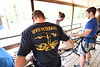WVU student veterans and families take part in veteran welcome back weekend actives at the WVU Adventure WV Outdoor Recreation Center, sponsored by the Office of WVU Veterans Affairs. August 25, 2018. Photo Greg Ellis