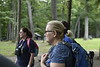 Veteran students participate in WVU's adventure trip at Coopers Rock on August 25, 2018. Photo by Hunter Tankersley.