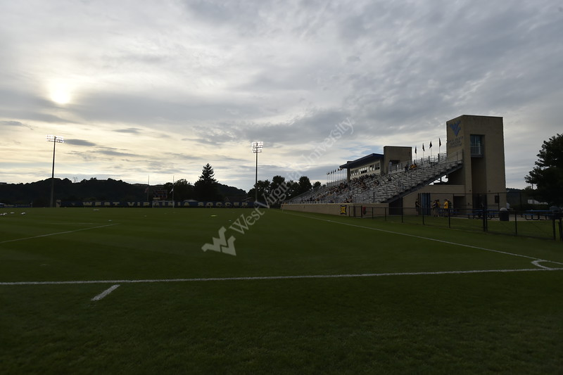 Women's Soccer faced off against Xavier in their home opener at Dick Dlesk Stadium on August 30, 2018. The Mountaineers beat Xavier 3-0.