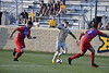 The Men's Soccerteam takes on American University at Dick Dlesk Soccer Stadium August 31st, 2018.  WVu won the match 5 to 1.  Photo Brian Persinger